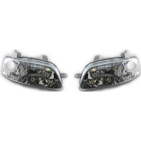 2004-06 Chevy Aveo Headlight Pair
