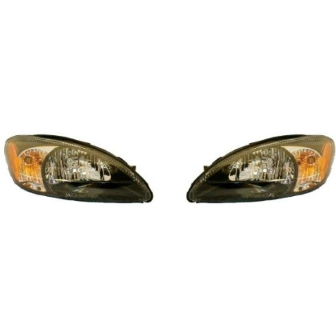 2003 Ford Taurus Composite Headlight w/Centennial Edition Pair
