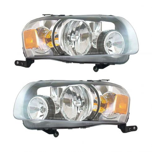 2005-06 Ford Escape Headlight Pair