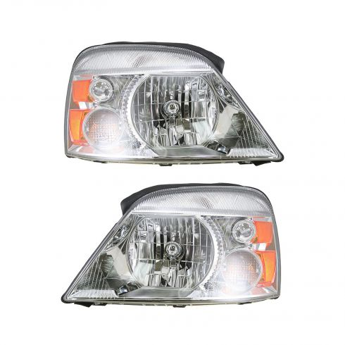 2004-05 Ford Freestar Headlight Pair