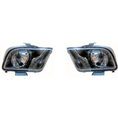2005-06 Ford Mustang Headlight Pair