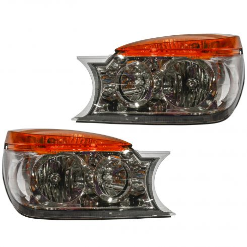 02-03 Buick Rendezvous Headlight Pair