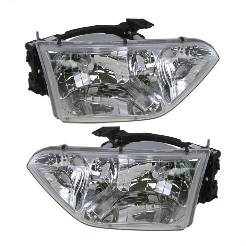 2001-02 Nissan Quest Composite Headlight Pair