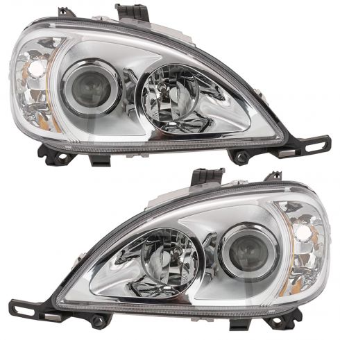 2002-05 MB M-Class Non-HID HL Pair