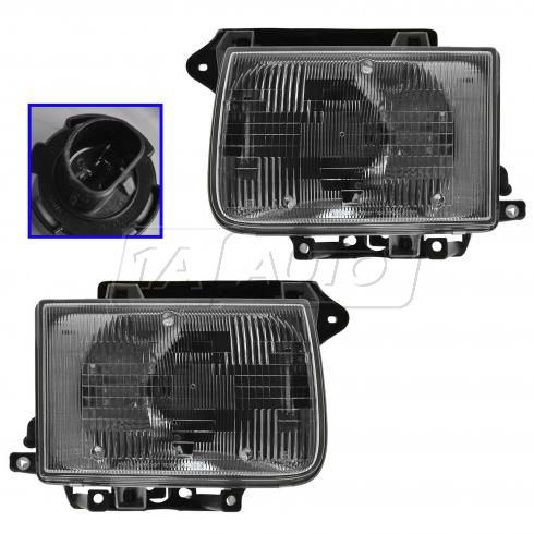 1997-99 Infinity QX4 Headlight Pair