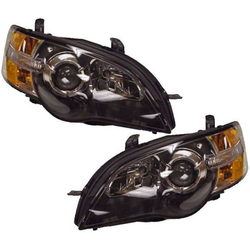 05-07 Subaru Legacy Headlight Pair