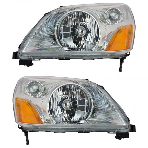 03-05 Honda Pilot Headlight Pair