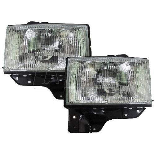 1992-97 Isuzu TROOPER HEADLAMP Pair