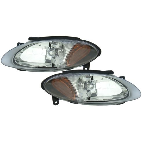 1998-03 Ford Escort Headlight Pair for ZX2 2dr