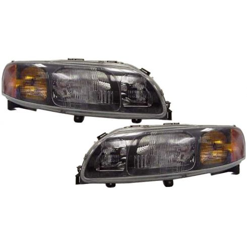 2001-04 Volvo S60 Headlight Lamp Halogen Pair