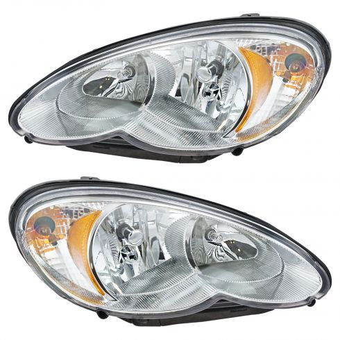 06-07 Chrysler PT Cruiser Headlight Pair