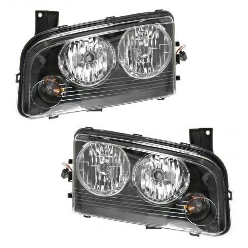 06-08 Dodge Charger Headlight Pair