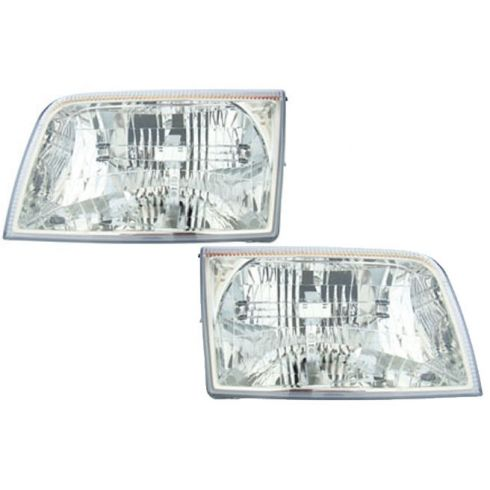 06-07 Mercury Grand Marquis Headlight Pair