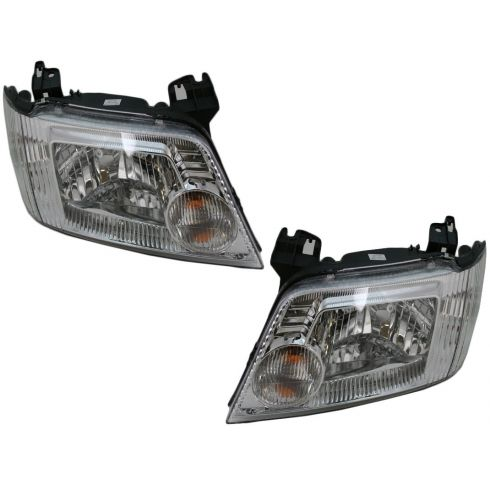 05-07 Mercury Mariner Headlight Pair