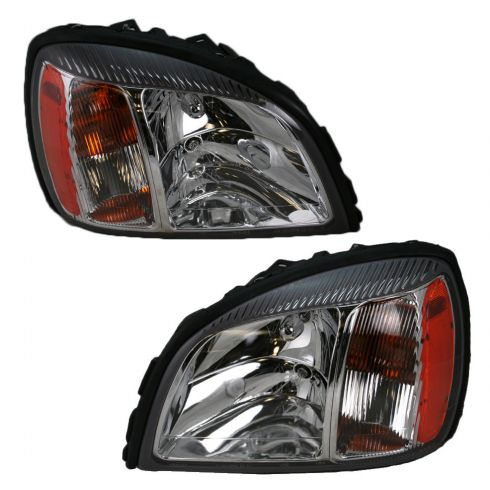 04-05 Cadillac Deville Headlight Pair