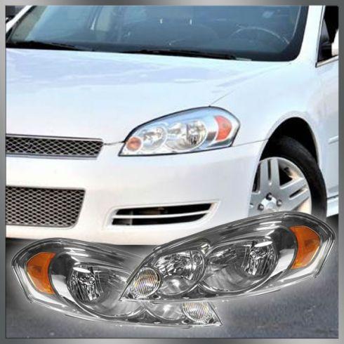 06-07 Chevy Monte Carlo Impala Headlight Pair