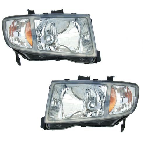 06-08 Honda Ridgeline Headlight Pair