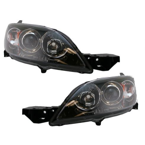 04-06 Mazda 3 Hatchback Headlight Pair