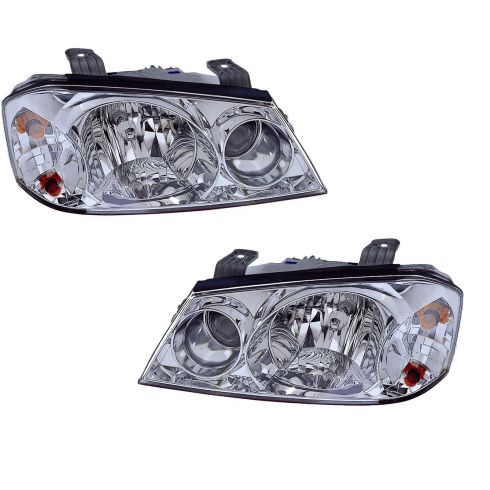 01-02 Kia Optima Magentis Headlight Pair