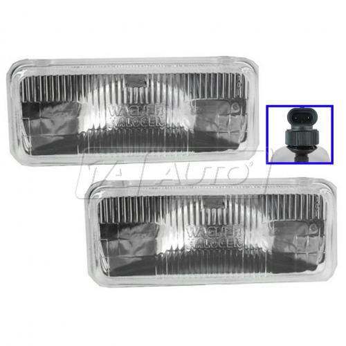 Sealed Beam Headlight Pair