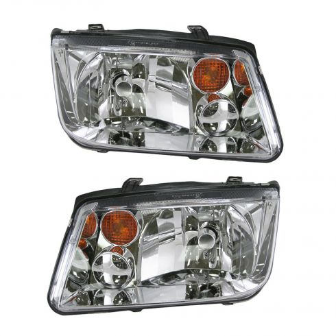 02-05 VW Jetta Headlight Pair