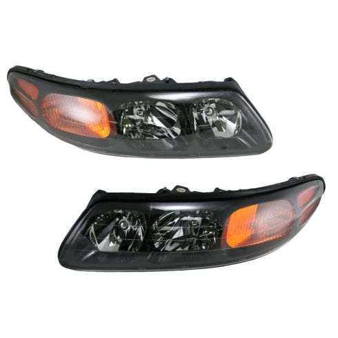 04-05 Pontiac Bonneville Pair Headlight