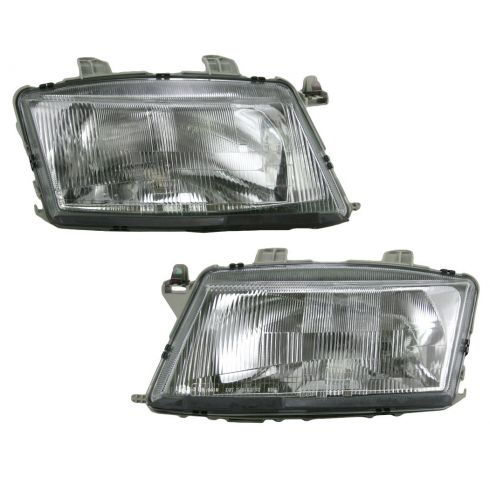 00-03 Saab 9-3 Sedan and Coupe Headlight Pair