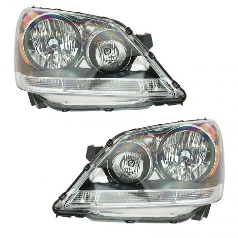 08-08 Honda Odyssey Headlight Pair