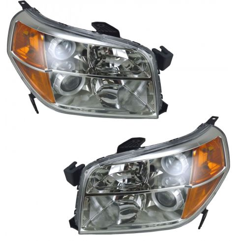 06-08 Honda Pilot Headlight Pair