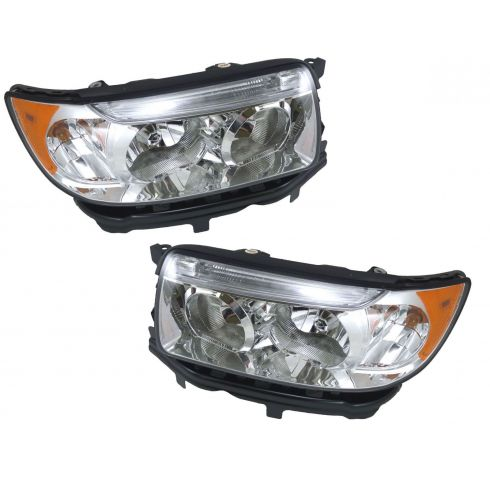 06-08 Subaru Forester Halogen Headlight Pair
