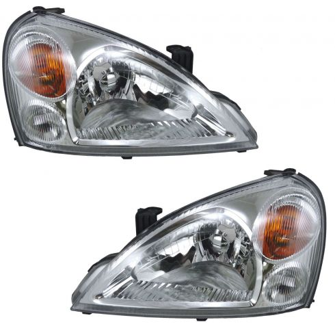 02-07 Suzuki Aerio Headlight Pair