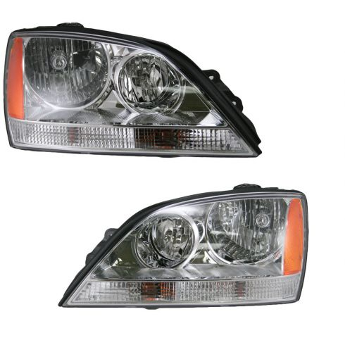05-06 Kia Sorento Headlight Pair