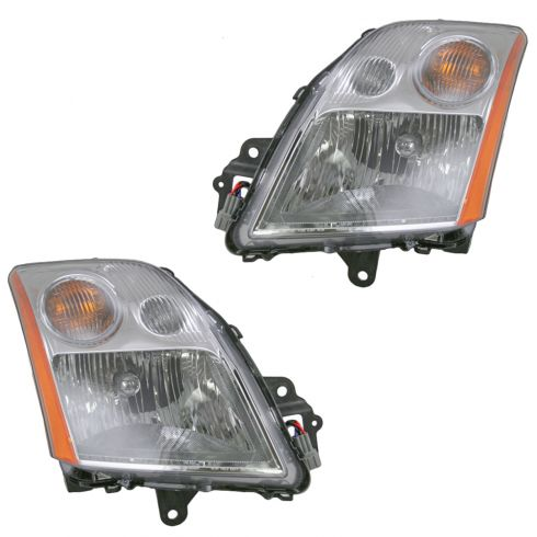 07-09 Nissan Sentra 2.0L Headlight Pair