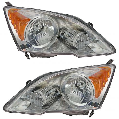 07-08 Honda CRV Headlight Pair