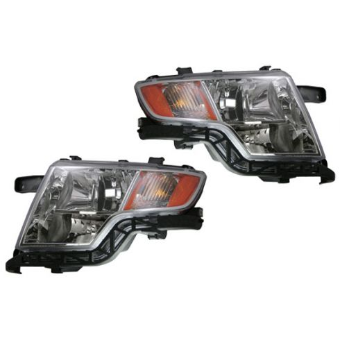 07-08 Ford Edge Headlight Pair