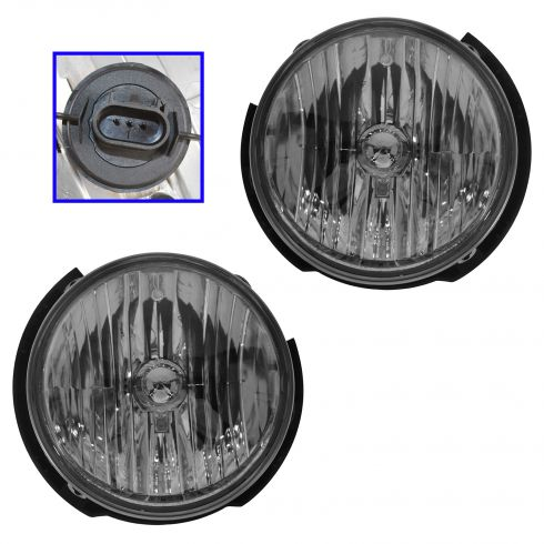 07-07 Jeep Wrangler Headlight Pair