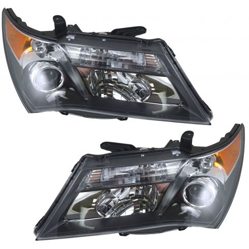 07-08 Acura MDX Base and Tech Model Headlight Pair