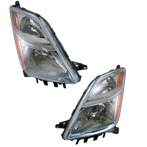 06-09 Toyota Prius Halogen Headlight Pair