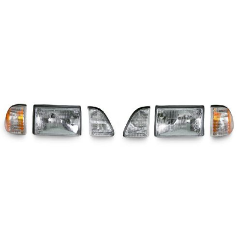 87-93 Ford Mustang Headlight Parklamp Kit