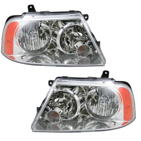 03-06 Lincoln Navigator Headlight HID Pair