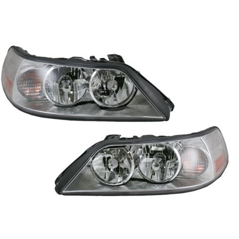 05-08 Lincoln Town Car Headlight HID Pair
