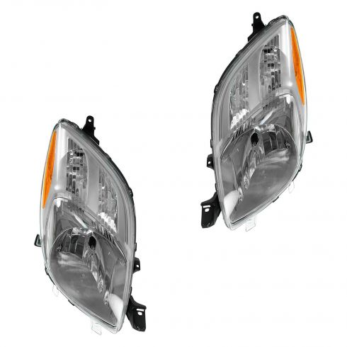 2006-08 Toyota Yaris Hatchback Headlight Pair