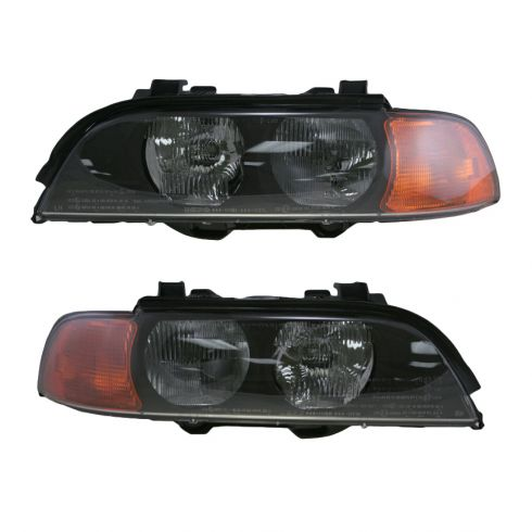 Headlight Pair Halogen