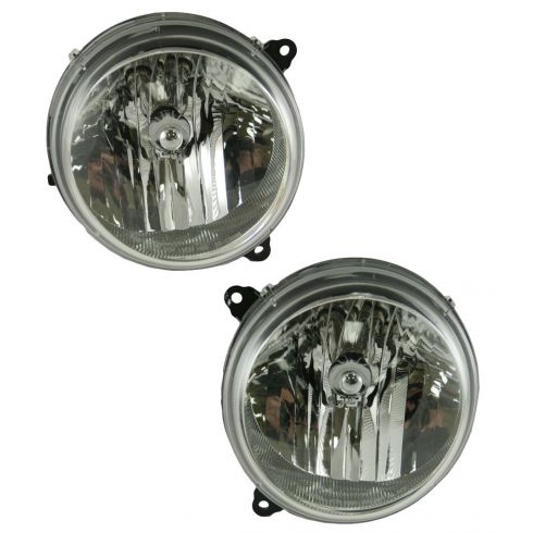 05-07 Jeep Liberty Headlight Pair