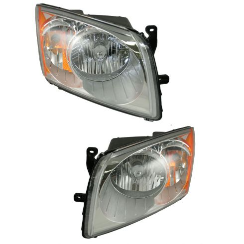 07-08 Dodge Caliber Headlight Pair