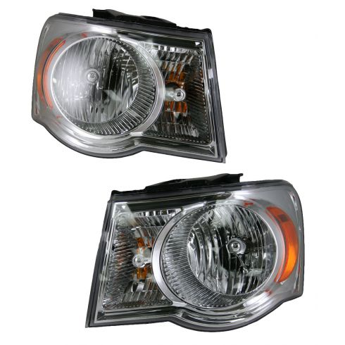 07-08 Chrysler Aspen Headlight Pair