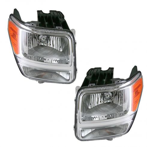 2007 Dodge Nitro Headlight Pair