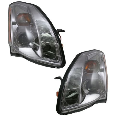 04-05 Nissan Maxima Headlight Pair
