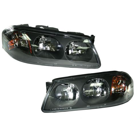 04-05 Chevy Impala Headlight from Production Date 2/6/04 Pair