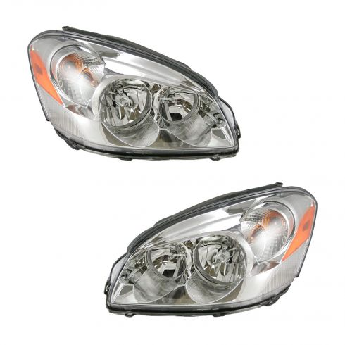 06-08 Buick Lucerne Headlight for CX Model Pair